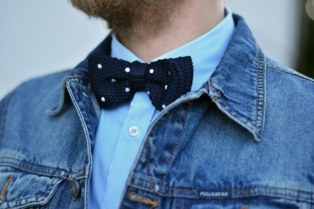 Casual bow-tie