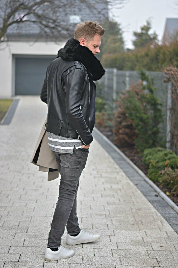 Coat & Leather
