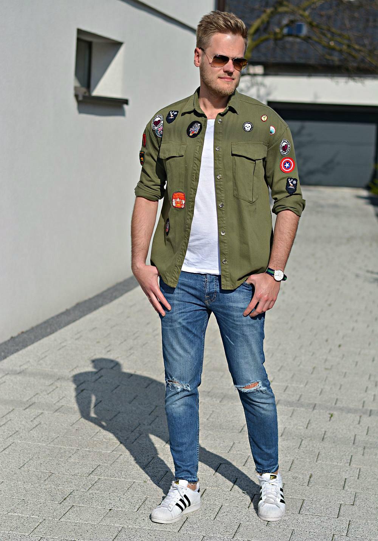 Khaki style